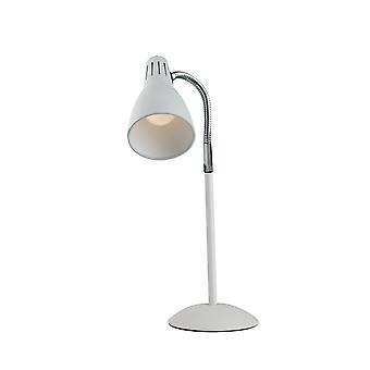 Europe Luce_Ambiente_Design - Justerbar tabell uppgiftslampa, Vit, E14