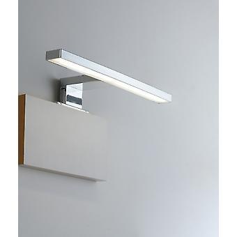 Badrums-LED Ovanför spegelvägglampa, Krom, IP44, 4000K
