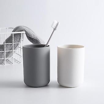 kreativ bærbar japansk stil bad tannbørste enkel vanlig kopp