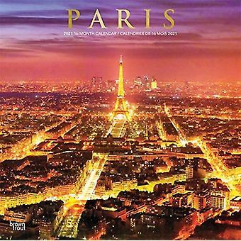 باريس 2021 مربع الإنجليزية الفرنسية احباط التقويم بواسطة Browntrout