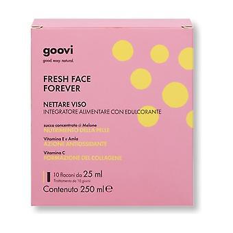 Face nectar - Fresh Face Forever 10 vials of 25ml