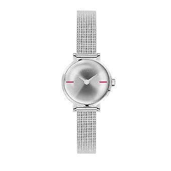 Furla Women'S Silver Dial Stainle  Steel Watch