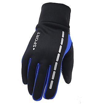 Mens Winter Warm Gloves Therm With Anti-slip Elastic Soft Lining Gloves