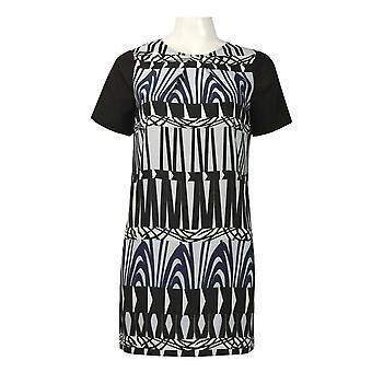 Printed Oversized Crepe Shirt Dress