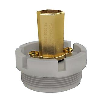 """PermaCast PB-SK-15 1.5"""" MPT Skimmer Mount Pool Bond Water Fitting"""