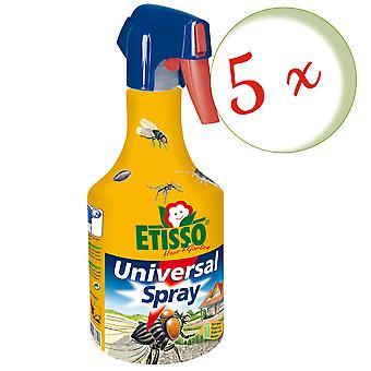 Sparset: 5 x FRUNOL DELICIA® Etisso® Universal spray, 500 ml - also against wasps