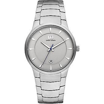 Dänisches Design Bogo Uhr - Silber