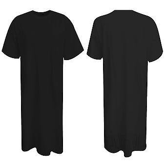 Puma Naisten Xtreme Maxi Pitkä T-paita T-paita Top Mekko Puuvilla Musta 573153 01 A19C