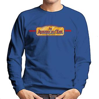 An American Tail A Don Bluth Film Logo Men's Sweatshirt