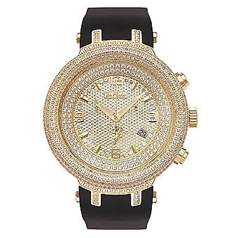 Joe Rodeo diamond men's watch - MASTER gold 6.5 ctw