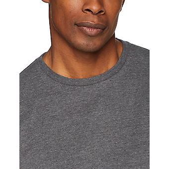 Essentials Men & apos;s 2-Pack Loose-Fit Short-Sleeve Crewneck T-Shirts, char ...