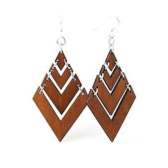 Fountain Pyramid Earrings