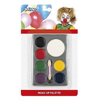Clownsmake-Up 7 Colors
