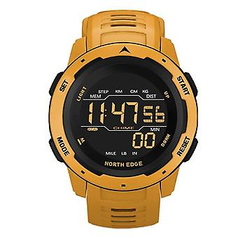 Men Digital Watch, Sports Watches, Dual Time, Pedometer, Alarm Clock,
