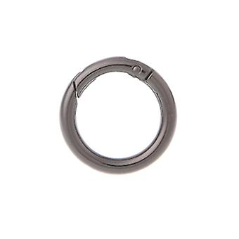 Round Ring Circle, Spring Snap, Keyring Hook Bag Buckle For Handbag & Purse
