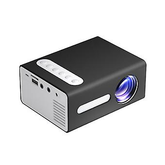 TOPRECIS T300 LED Mini Projector Portable LCD 1080P Supported Office Home Children Cinema