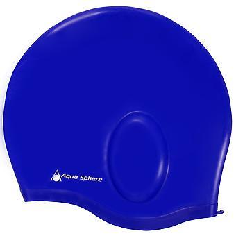Aqua Sphere Aqua Glide Yüzme Şapkası - Mavi