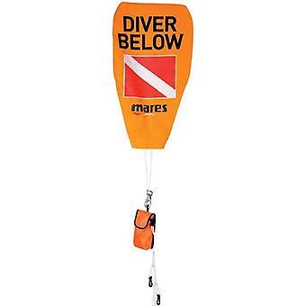 Mares Safety Stop Marker Buoy - Orange