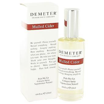 Demeter chaud cidre Cologne Spray par Demeter 4 oz Cologne Spray