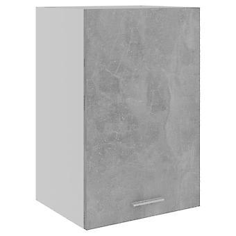 Hängeschrank Beton Grau 39,5x31x60 cm Spanplatte