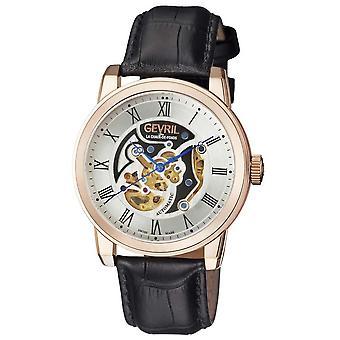 Gevril Vanderbilt Automatic Silver Dial Men's Watch 2694