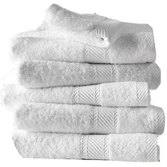 bath towel Héléne 100 cm cotton white 6 pieces