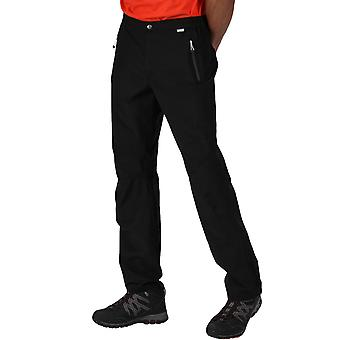 Regata Mens Highton Stretch Impermeable Caminando Caminando Overtrousers - Negro