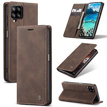 Caseme Wallet Case Samsung Galaxy A12 - Café