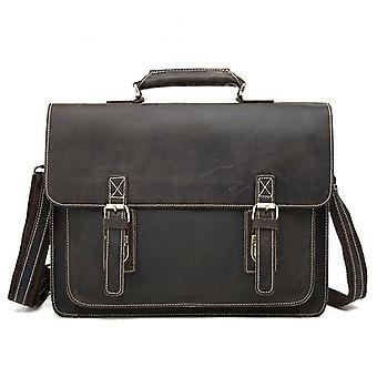 Crazy Horse Leather Briefcases Bag, Laptop Bags