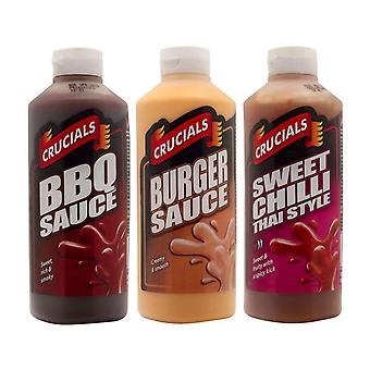 Crucials Barbeque, Burger, Thai Sweet Chilli 500ml