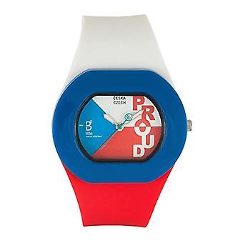 B360 WATCH Unisex Wristwatch B PROUD Czech Republic Small, 3 bars silicone quartz 1050068