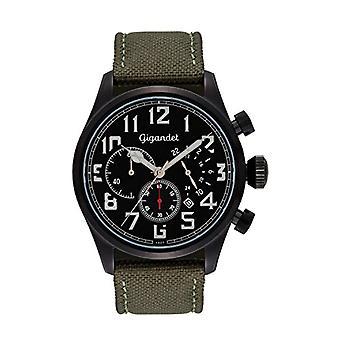 Gigandet G4 003 - Men's watch, silicone strap, black color