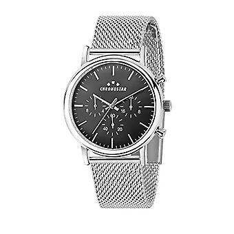 CHRONOSTAR Men's Quartz Multi-Quadrant Watch with Stainless Steel Strap R3753276002