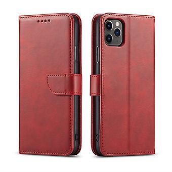Flip Folio Ledertasche für Samsung a32 4g rot pns-5201