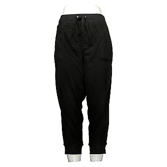 Tracy Anderson for G.I.L.I Women's Pants Petite Cropped Black A365534