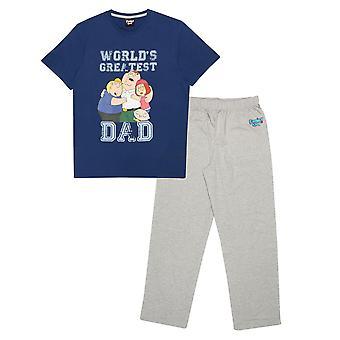 Family Guy Mens World´s Greatest Dad Pyjama Set