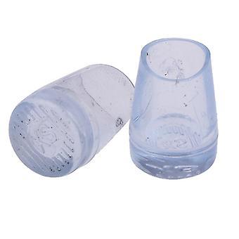 10pcs =5paar Schuhpflege Transparent Latin Dance Schuhe Covers Cap