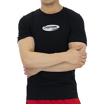 Supreme Grip Hommes T-Shirt Chat Noir