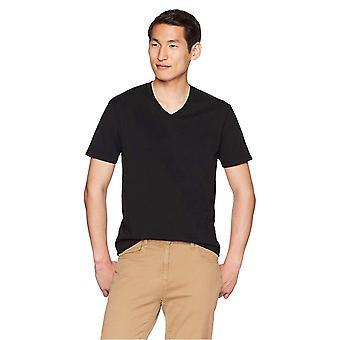 """グッドスレッド メンズ """"パーフェクト V ネック T シャツ"""" 半袖, ブラック, サイズ 小"""