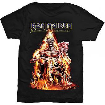 Iron Maiden Seventh Son Petit T-Shirt pour hommes - Noir