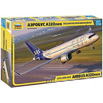 Zvezda 1:444 Airbus A-320 Neo Model Kit