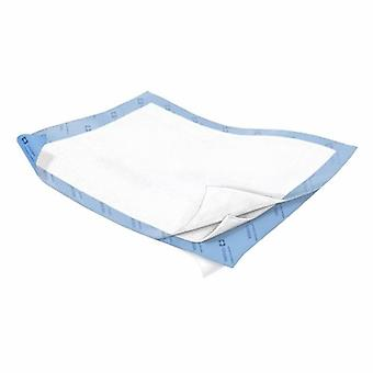 Cardinal Underpad Wings Quilted 30 X 30 Inch Disposable Polymer Heavy Absorbency, Case of 60