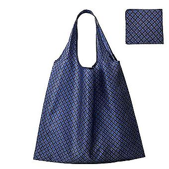 Waterproof Reusable Grocery Bags ,washable Shopping Bags  Foldable(Color3)