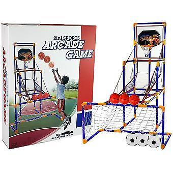 Jeu d'arcade de basket-ball - entraîneur de lancer