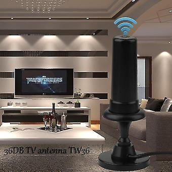 Szabad nézet Antenna Digitális Dvb-t Tv 36 Db / Auto Tw36 Kábellel