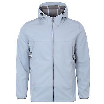Forty Shelba Softshell Hooded Jacket - Ice Blue