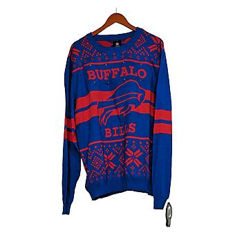 NFL Homme Buffalo Bills Pull LED Lighted Ugly Pullover Blue A371650