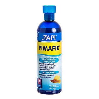 API PimaFix علاج الأسماك المضادة للفطريات - 16 أوقية زجاجة (يعامل 946 غالون)