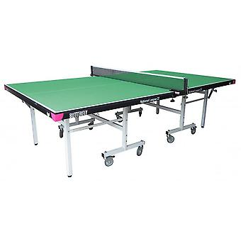 Butterfly National League 22 Rollaway Table Tennis Table Set - Green
