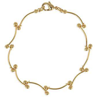 ADEN Gold Plated Bracelet 19cm (id 3643)